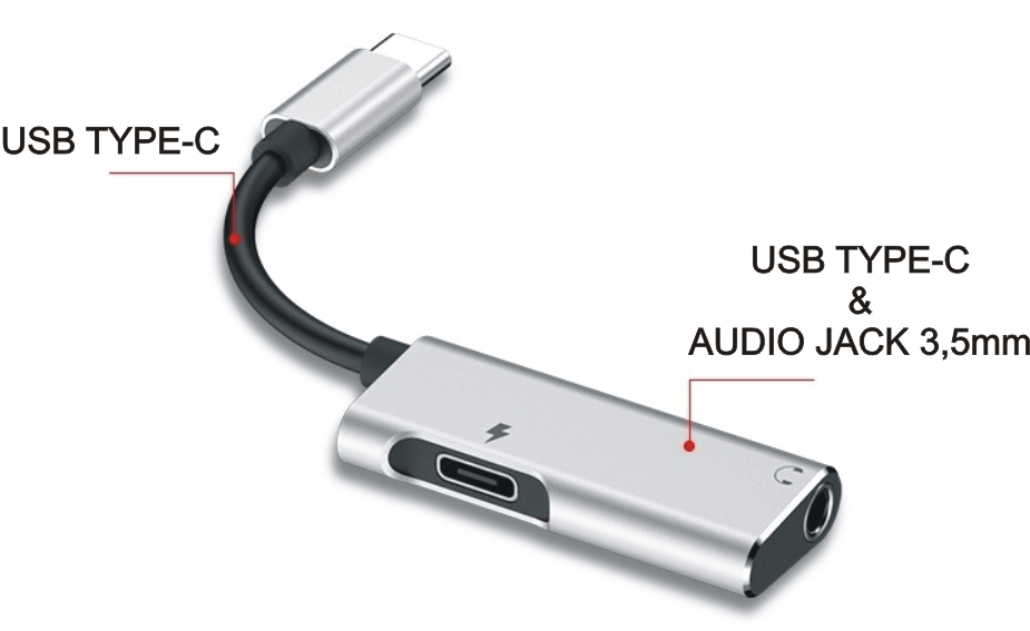 hub da usb-c all'audio